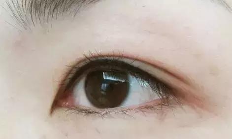 美瞳线效果图